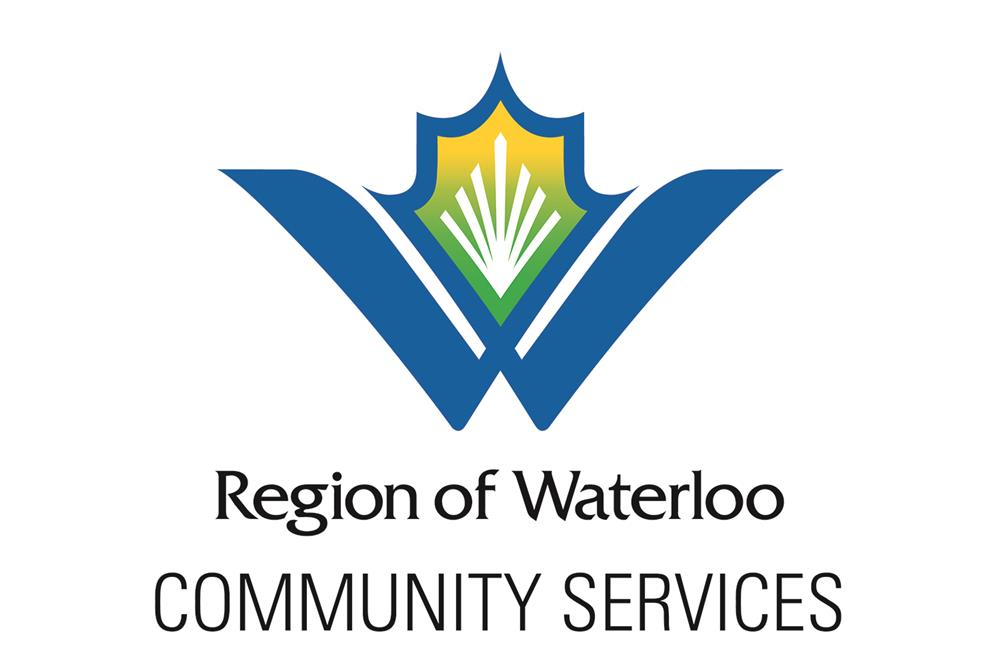 Image of Region of Waterloo Community Services logo
